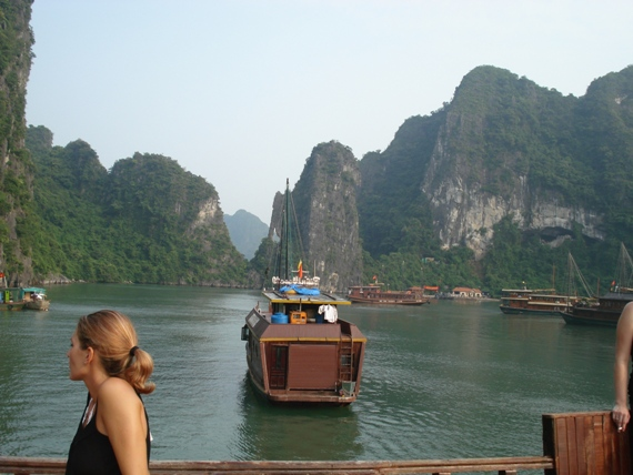 The majesty of Ha Long Bay, Vietnam