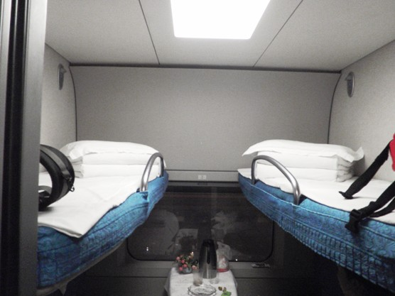 four person berth in a T Class train China