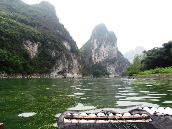 Scenery li river cruise china