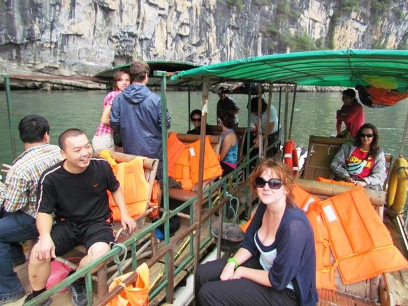 Bamboo boat Li River cruise