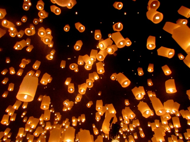 Loi Krathong Mae Son Chiang Mai Travel Photography Roulette Round 4: Festival