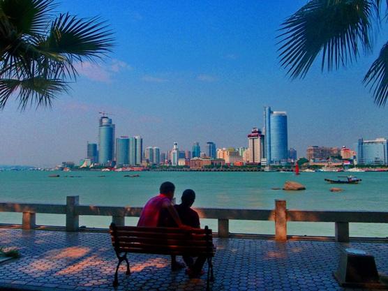 View of Xiamen