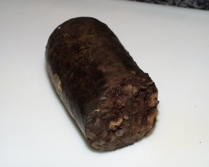 English Black PUdding sausage