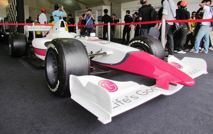 Formula 1 car - Malaysia