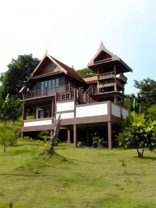 House at goodtime resort, koh mak, Thialand