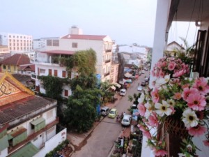 The capital of Laos