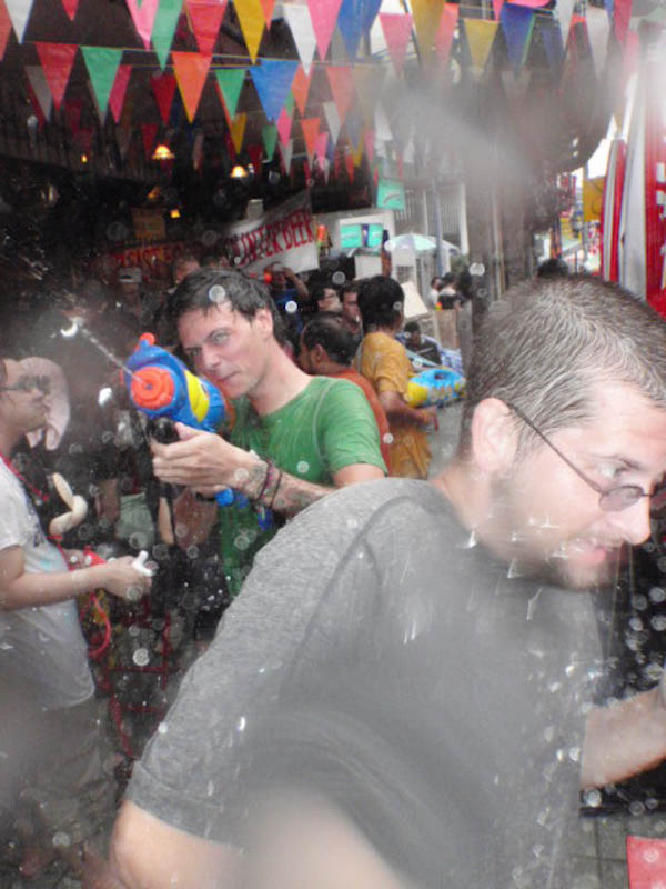 Songkran 2011 Khao San road - getting wet