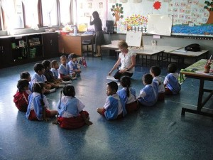 Teaching English Kindergarten in Thailand