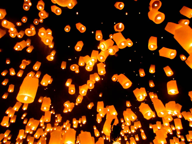 Yee Ping Festival Thailand