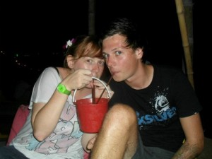 Buckets on Koh Phi Phi