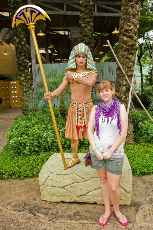 Ancient Egypt at Universal Studios Singapore