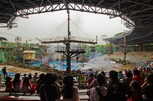 Waterworld Universal Studios Singapore