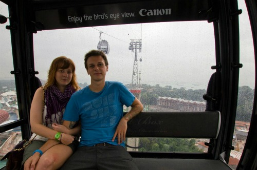 Moung Faber to Sentosa cable car