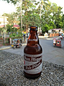 stubby san miguel bottle