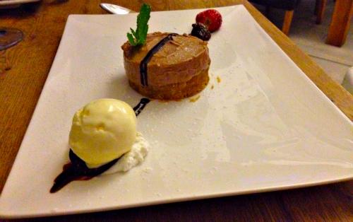dessert at kristians lanzarote