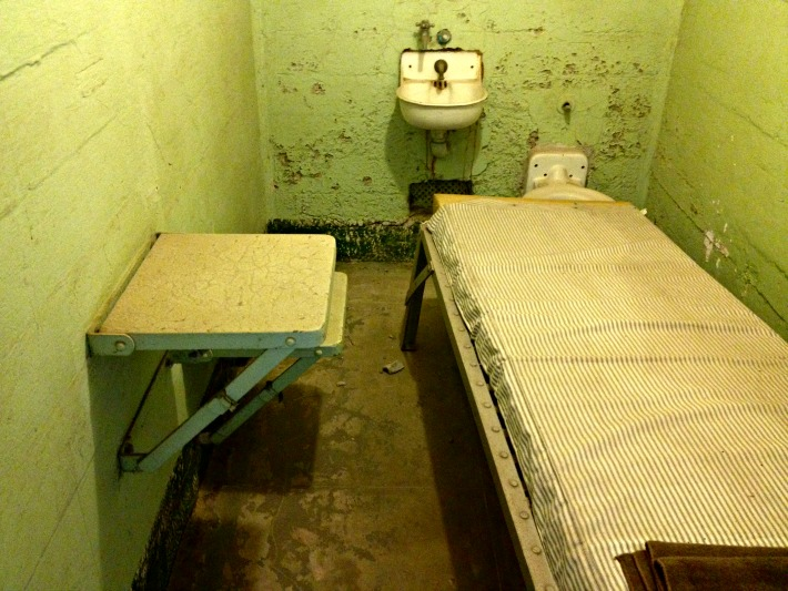 typical cell in Alcatraz