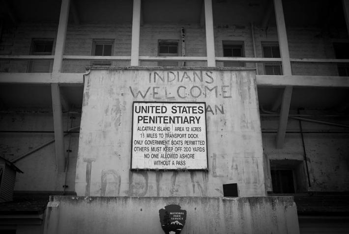 Indians on Alcatraz
