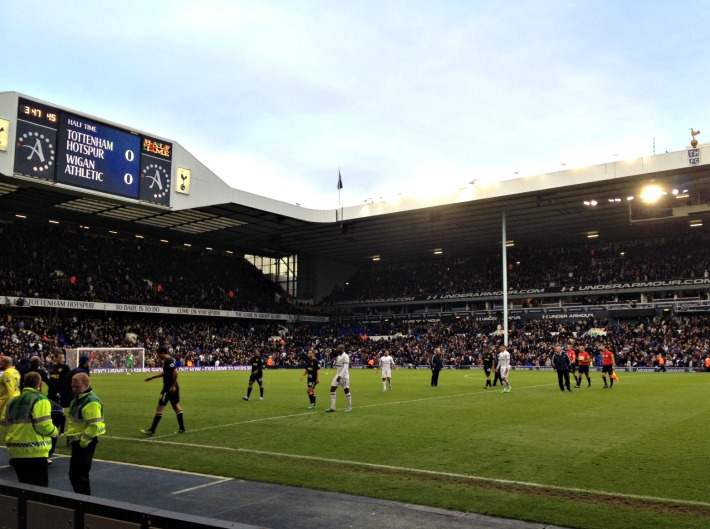 Tottenham Hotspur West Stand