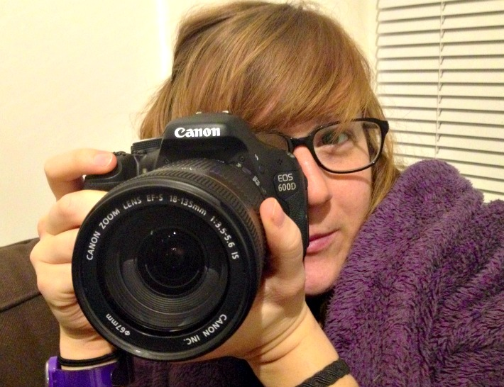New Canon 600d 18-135mm