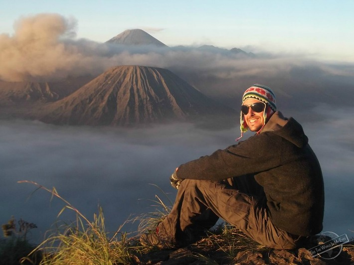 Volcano Gunung Bromo in Indonesia