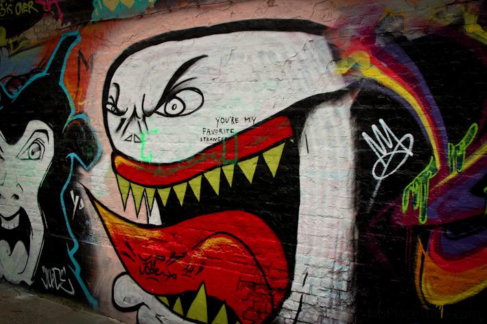 Streetart in Ghent