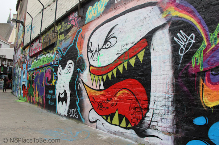 Graffiti Alley Ghent