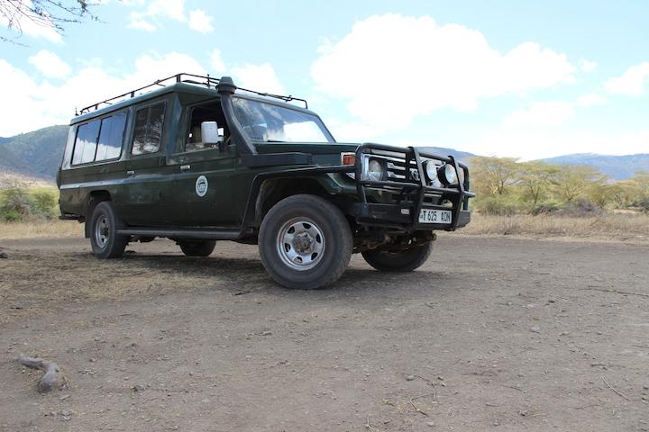 Safari Truck Tanzanai