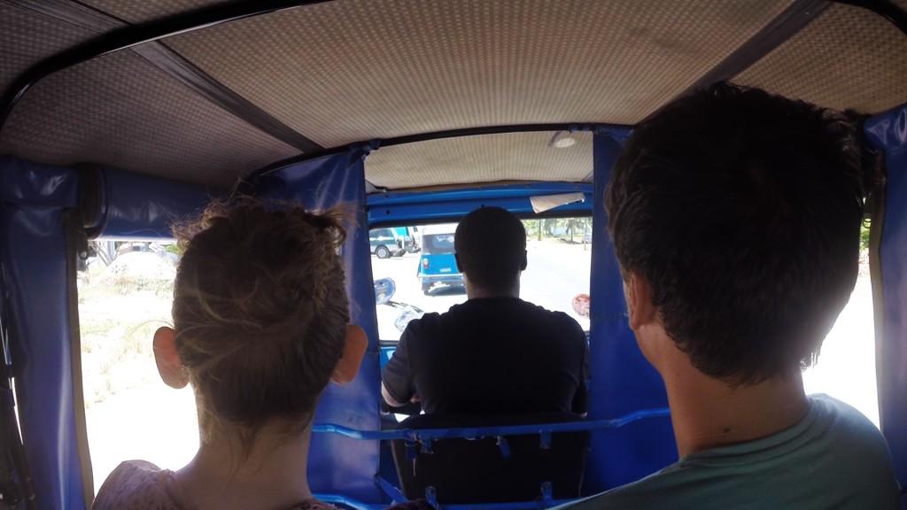 Tuk Tuk ride Tanzania
