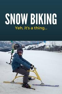 snow biking austria