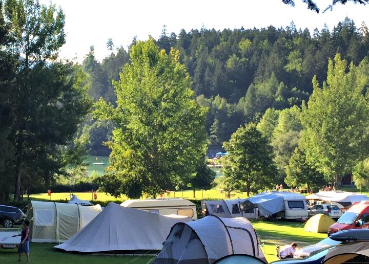 Camping near Lienz Austria