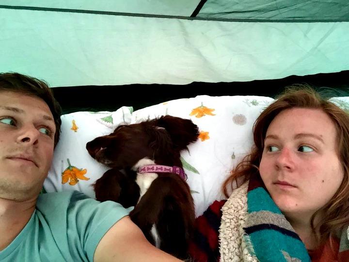 memory foam camping