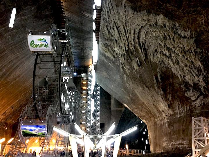 Underground theme park Romania