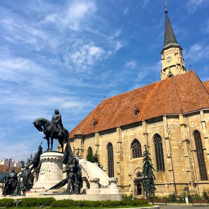 Matthias Corvinus Monument Cluj