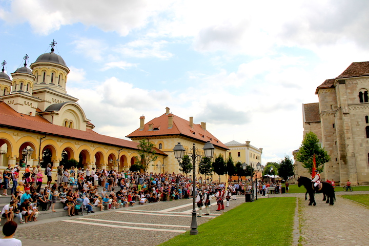 old town alba iulia